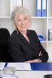 Portrait einer erfolgreichen älteren Geschäftsfrau