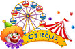 A clown at the circus show