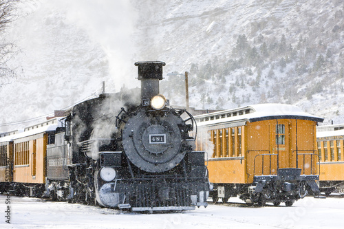 Durango and Silverton Narrow Gauge Railroad, Colorado, USA - 51071847