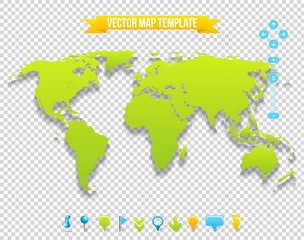 Vector Map Template
