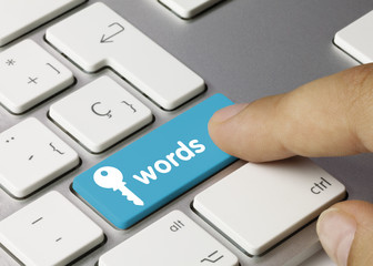 Keywords keyboard key