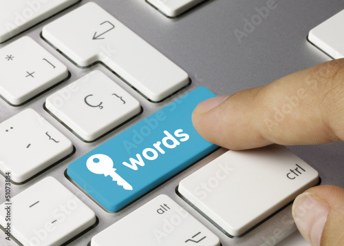 Keywords keyboard key