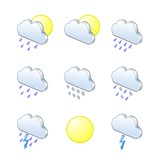 Weather icons 3D