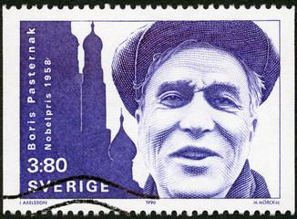 SWEDEN-1990: shows Boris Pasternak, Nobel Laureate in Literature