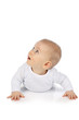 Süßes Baby schaut hoch - sweet happy baby