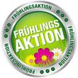 "Button ""Frühlingsaktion"" grün/silber"