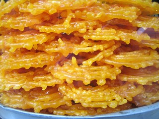 Zalabia (Jalebi) traditionnal sweet food for ramadan