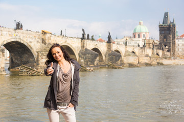 Young Russian Woman in Prague