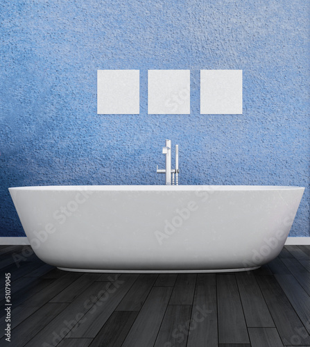 Interior of Luxurious Design Bath Room