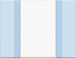 Blue checkered celebration frame for your message or invitation