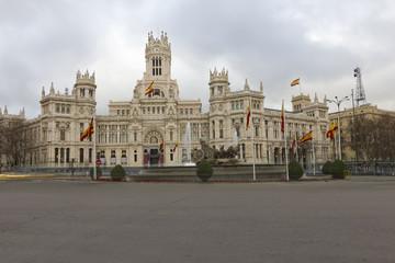 Cibeles view.Madrid
