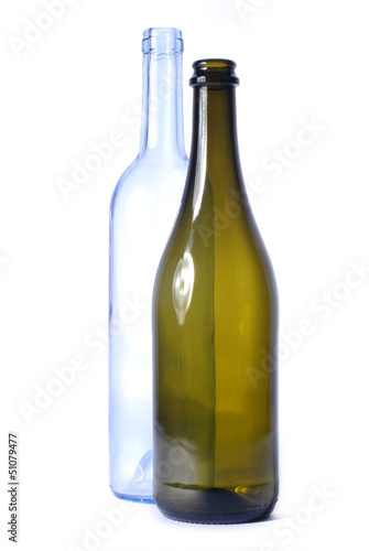 Bottle for wine and champagne