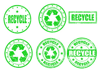 Recycle-stamps