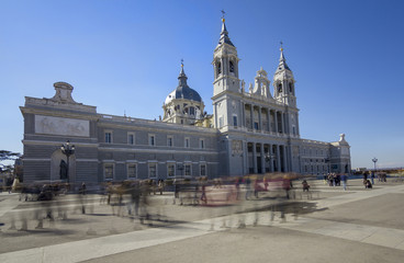 almudena cathedral,madrid,spain