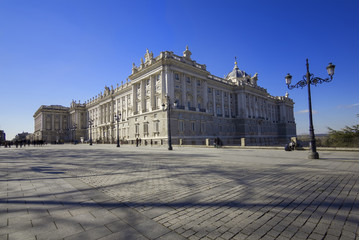 royal palace views,Madrid,Spain