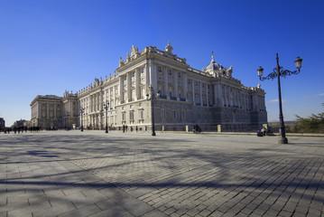 royal palace views,Madrid,Spain