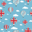 uk hot air balloons pattern
