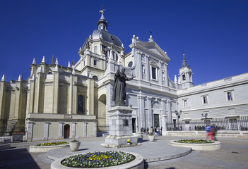 almudena cathedral,madrid,spain