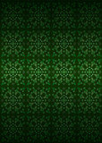 green secession foliage structure pattern vector poster