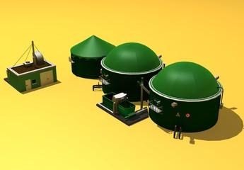 Biogasanlage 3