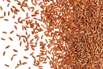 brown rice grain