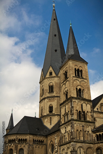 canvas print picture Bonner Münster