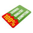 karte v3 100% service qualitaet kompetenz I