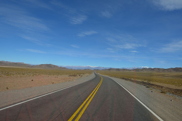 Road in North-west Argentina