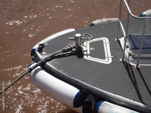 Barche in sosta sulla banchina