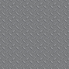 Seamless Diamond Plate Pattern