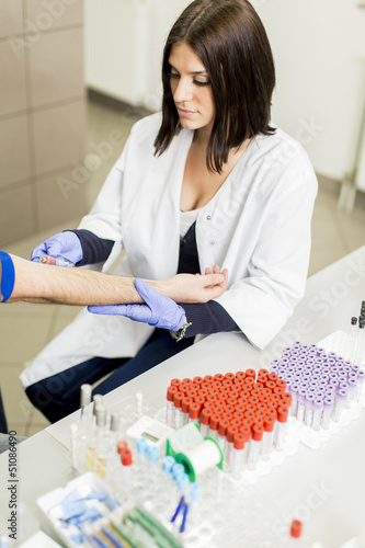 Blood sampling