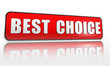 best choice red banner