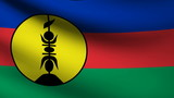 New Caledonia flag.
