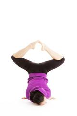 Gymnastikübungen einer Tänzerin