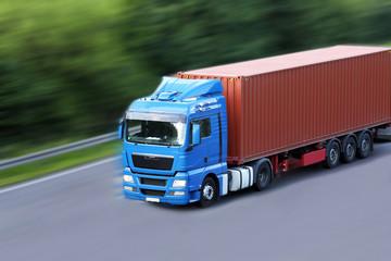 Transport von Containern