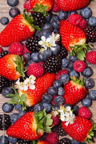 Zdjęcia na płótnie, fototapety na wymiar, obrazy na ścianę : Berries
