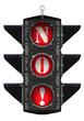 Светофор и отрицательный ответ NO