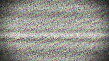 HDTV Noise turning on - off