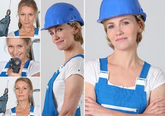 Women laborer