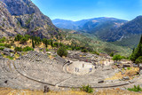 Ancient Theater in Delphi, Greece - 51092002
