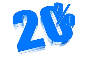 20 percent discount on three-dimensional