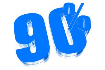 90 percent discount on three-dimensional