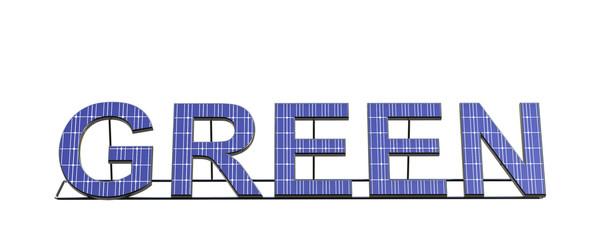 Solar Panel Text