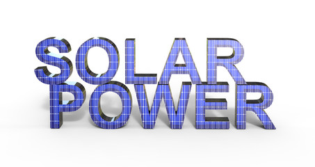 Solar Power Text
