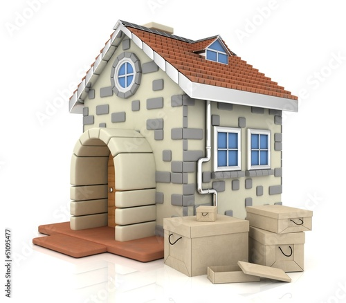 house, box