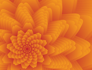 Fractal flower background