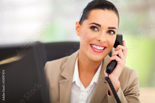 switchboard operator answering telephone