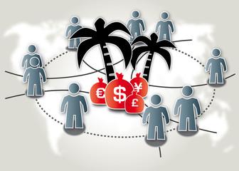 Steueroase, Offshore-Leaks, Briefkastenfirma, Schwarzgeld