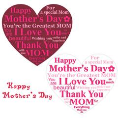 母の日 メッセージカード