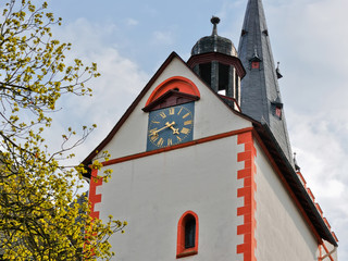German clock tower